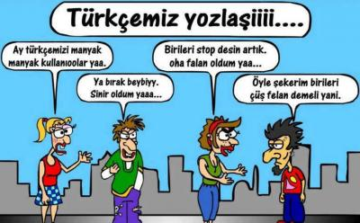 Sosyal Medya Ve Dizilerin Dilimize Turkce Ye Etkileri