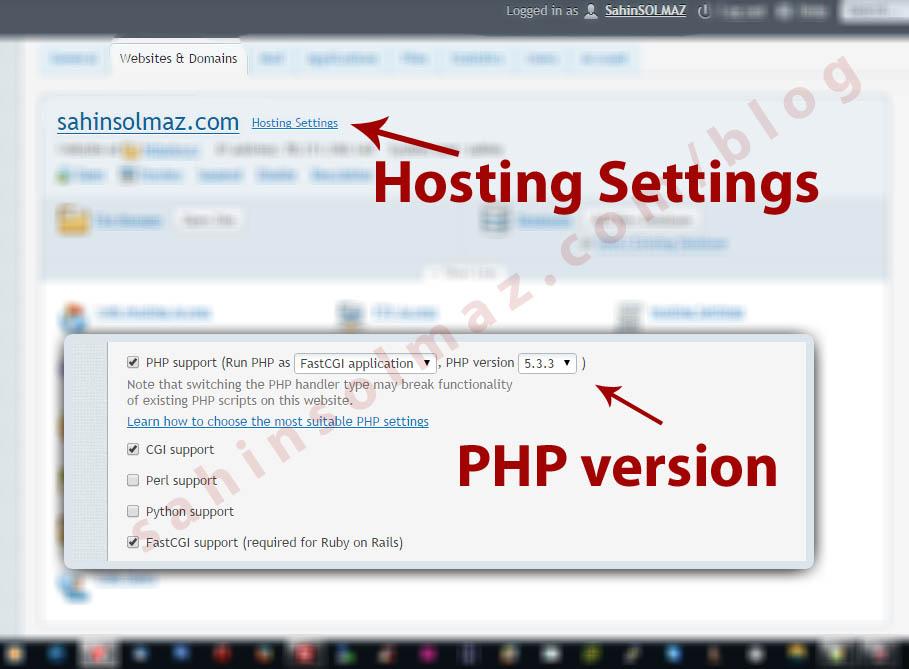 Linux CentOS - Plesk Panel - Çoklu Php Desteği - Multi Panda Php Update Upgrade