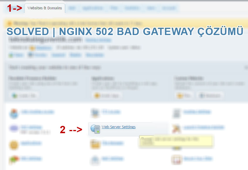 Solve - NGINX 502 Bad Gateway Error Hatası ve Çözümü--2